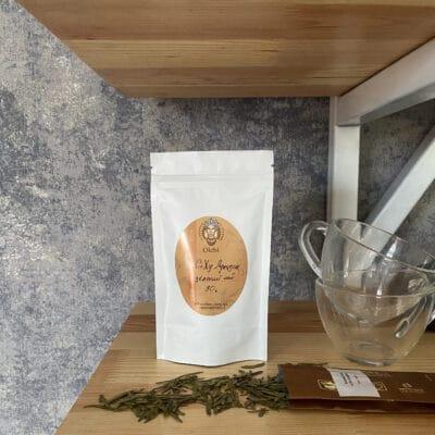 зелений чай ольчі