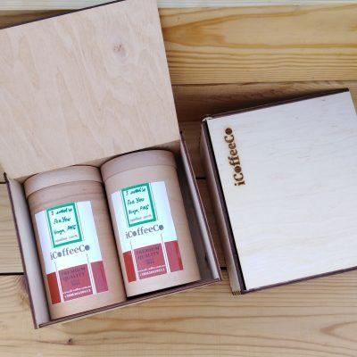 подарочный набор кофе дерево